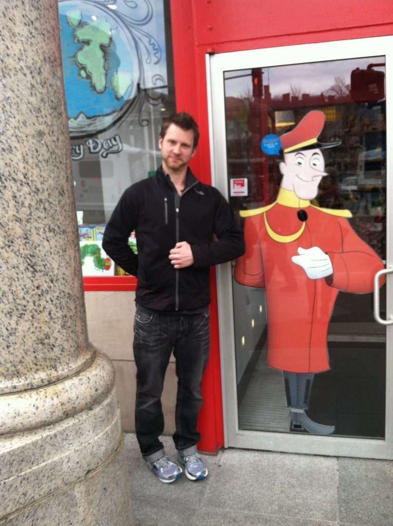 marc at curious george store