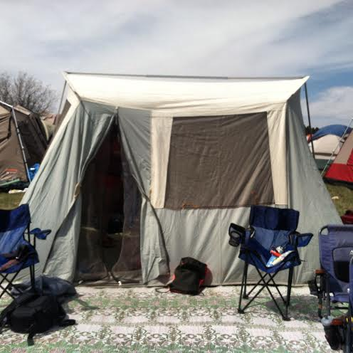 tent by ned