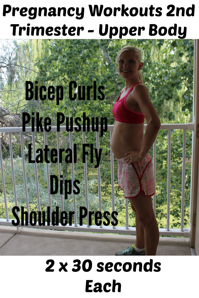 Pregnancy Workout for Second Trimester - Upper Body