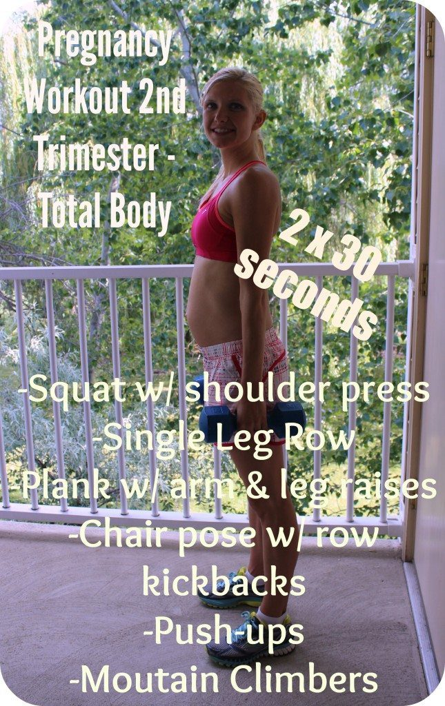 Total Body Pregnancy workout 2nd Trimester