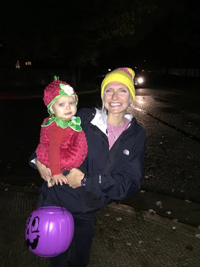 trick treating with Reagan