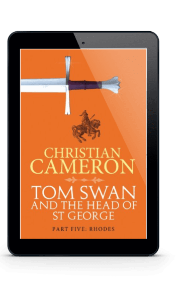 Tom Swan and the Head of St George Part Five: Rhodes