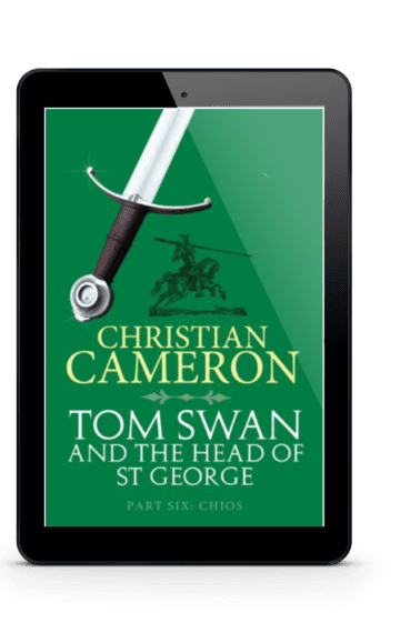 Tom Swan and the Head of St George Part Six: Chios