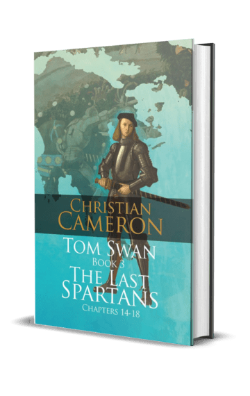 Tom Swan Book 3: The Last Spartans