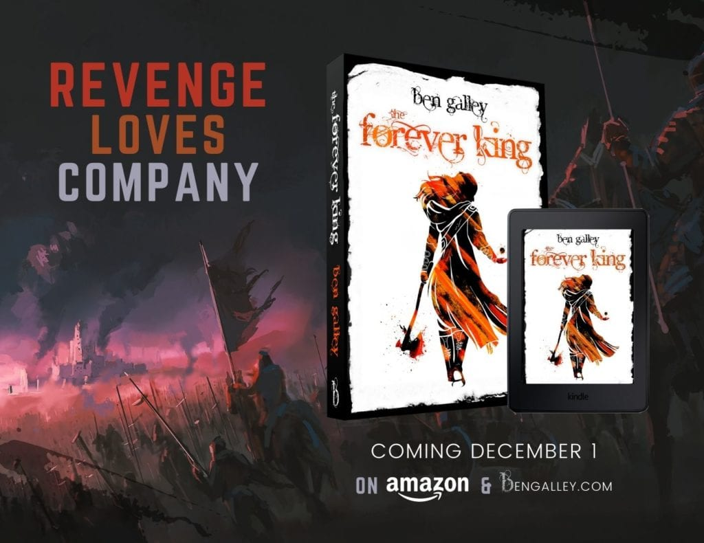 Forever King Launch Poster