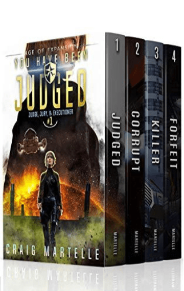 Judge, Jury, & Executioner Boxed Set (Books 1 – 4)