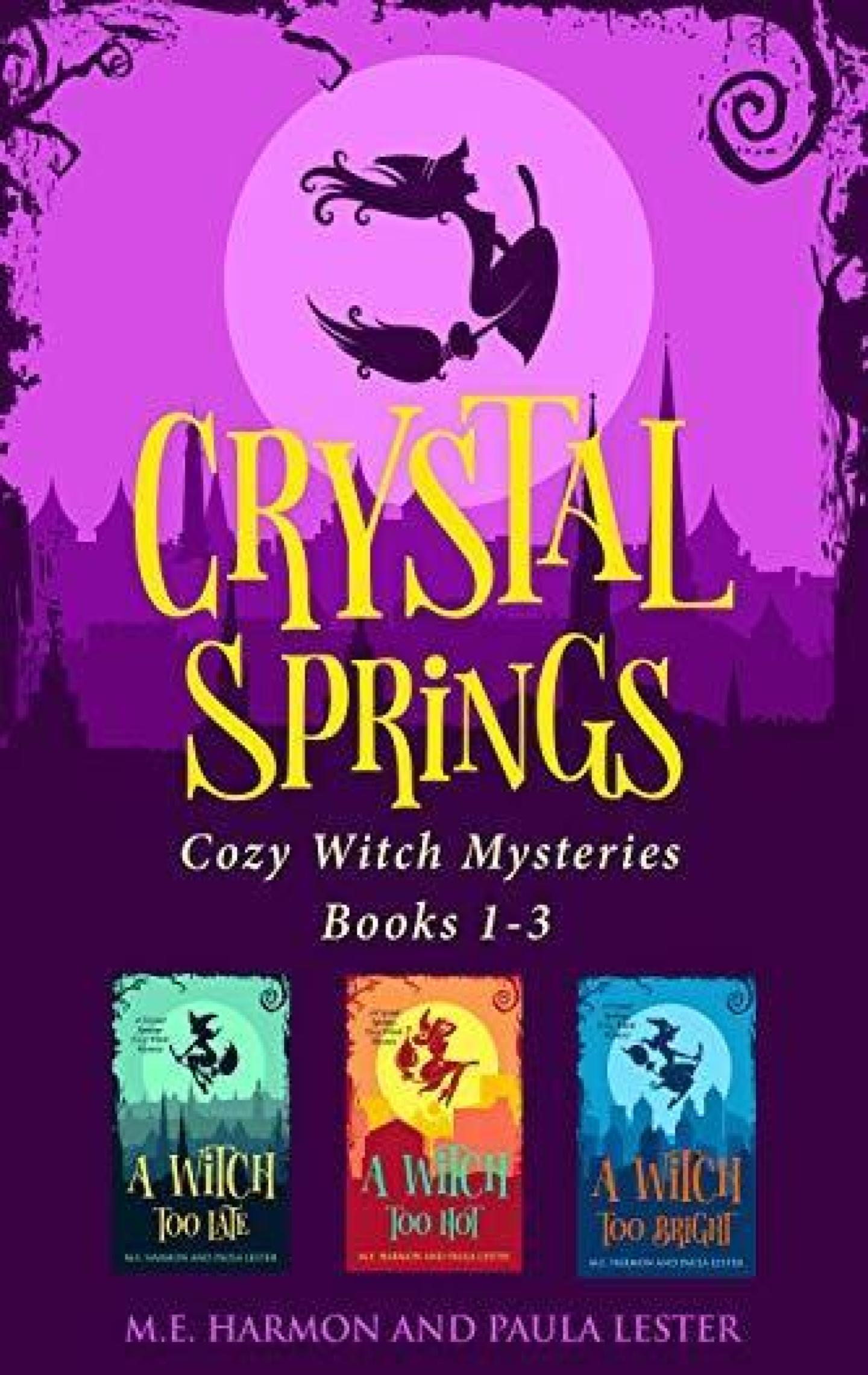 Crystal Springs Cozy Witch Mysteries Boxset 1