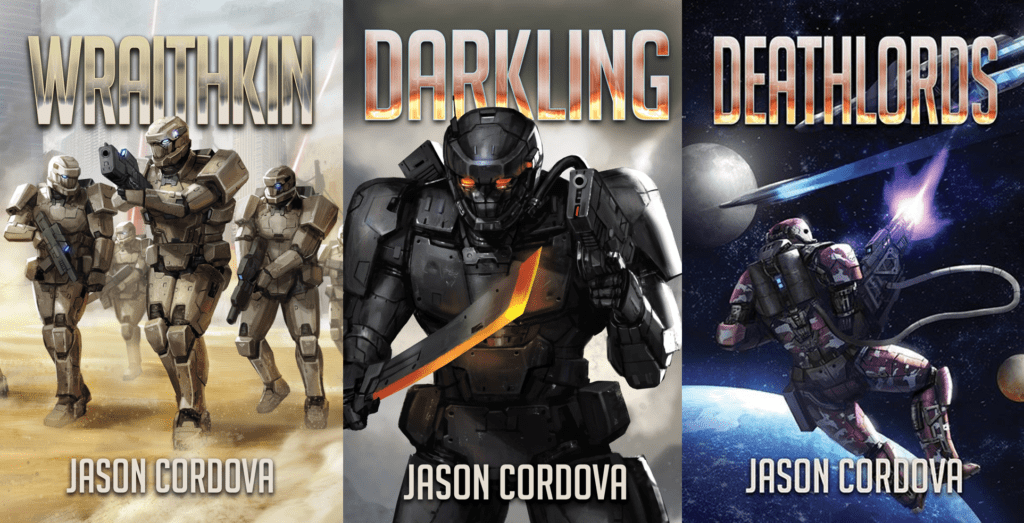 Cover Art for The Kin Wars by Jason Cordova