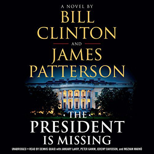 The President Is Missing audiobook cover art
