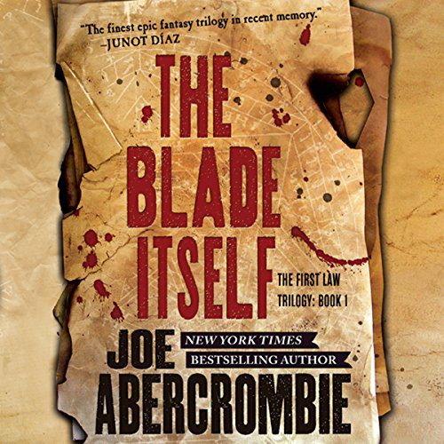 The Blade Itself audiobook cover art