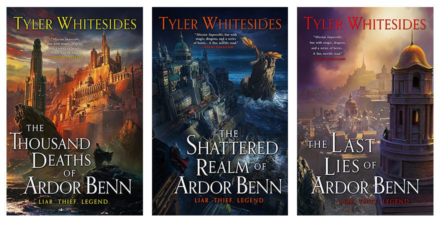 """Orbit Books on Twitter: """"We're thrilled to announce that THE THOUSAND  DEATHS OF ARDOR BENN by @twhitesides is getting a stunning new cover—and  two more books to complete The Kingdom of Grit"""