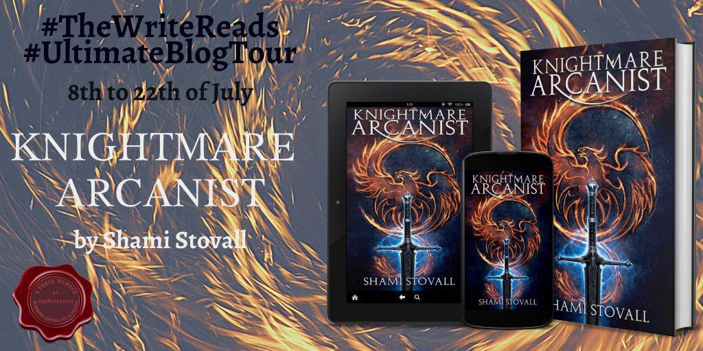 Knightmare Arcanist by Shami Stovall   Blog Tour -