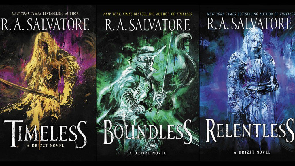 The Generations Trilogy of Drizzt Novels Concludes with Relentless - Nerds  on Earth