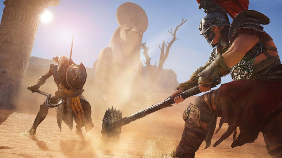 Assassin's Creed Origins' Review (PS4): The Gods Heard Your Prayers