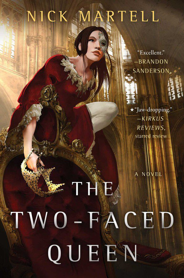 The Two-Faced Queen   Book by Nick Martell   Official Publisher Page    Simon & Schuster